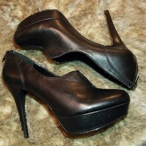 Nine West Goodluck Leather Heels